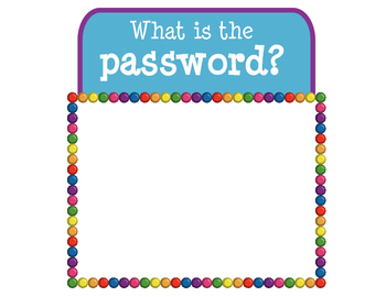 What is the Password? Sign