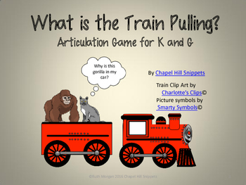 What is the Train Pulling? Articulation Game for K and G
