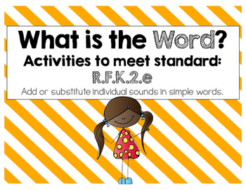 What is the Word? Meets Common Core!