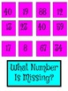 What number is missing?  Math Center