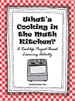 What's Cooking in the Math Kitchen? A Real-life Project-Ba