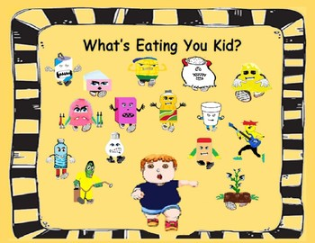 What's Eating You Kid?  It's a scary story!