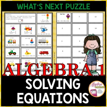 Solving Equations: What's Next Puzzle