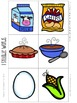 What's for Lunch?  A Syllable Counting Game