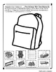 Backpack Safety: Cut and Paste