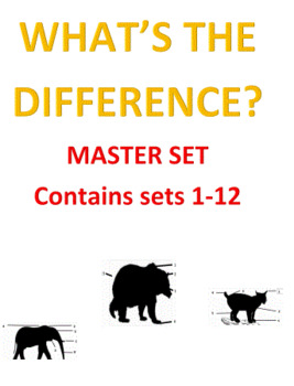 What's the Difference? -- Master Set