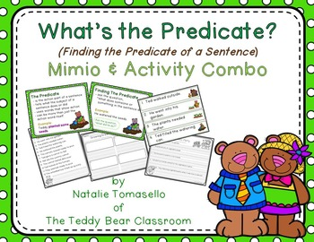 What's the Predicate?  - Read the Room, Center, and Mimio Combo