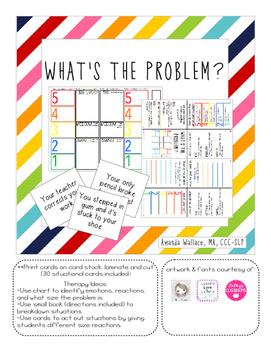 What's the Problem? Social Skills/Self-Regulation Strategies