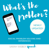 What's the Problem- Inference and Problem Solving Cards