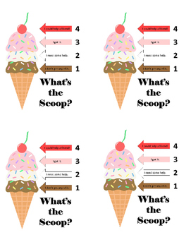 What's the Scoop? Individual Student Check In