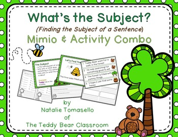 What's the Subject?  - Read the Room, Center, and Mimio Combo