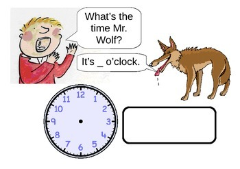 What's the time Mr.Wolf?