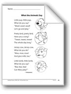 What the Animals Say (A poem)