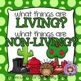 What things are Living and Non-Living?  A science picture