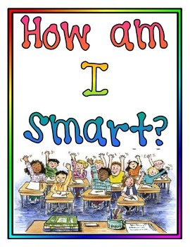 How am I Smart? Multiple intelligences-Set of 10 Posters