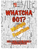 Whatcha Got?Multi-Function- Mental Math,Vocab, Add, Subtra