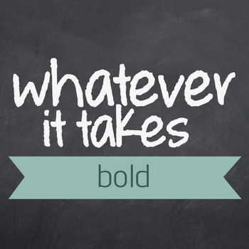Whatever It Takes Bold Font for Commercial Use