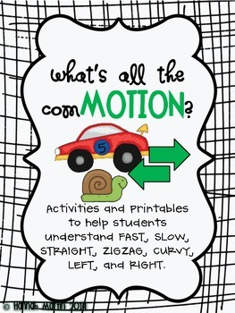 What's All The ComMOTION?! {Activities About Motion}