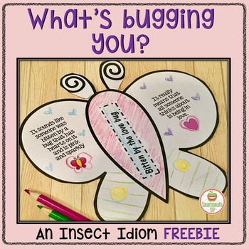 What's Bugging You? Idiom Activity