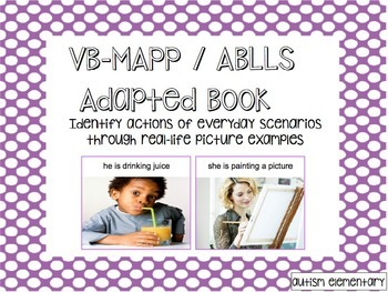 What's Happening? Adapted Book to Identify Actions and Eve