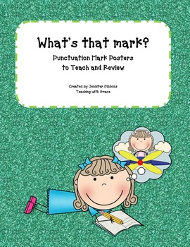 What's That Mark? Punctuation Posters