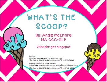 FREEBIE: What's The Scoop?