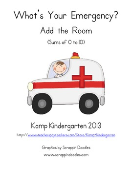 What's Your Emergency Add the Room (Sums of 0 to 10)