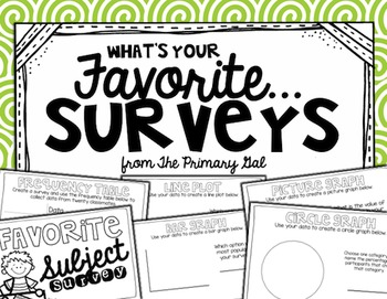 What's Your Favorite....Survey FREEBIE