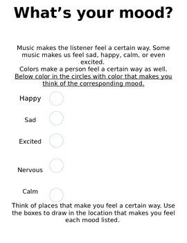 What's Your Mood?