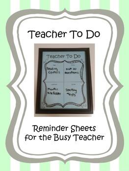 What's a Teacher To Do?