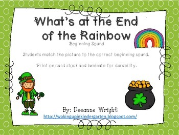 What's at the End of the Rainbow-beginning sounds