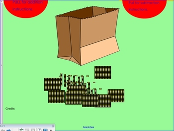 What's in the bag?-SmartBoard