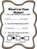 What's in Your Wallet? - Positive Classroom Management Inc
