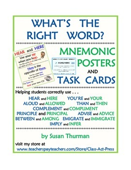 What's the Right Word? Vocabulary Fun and Spelling Fun (Po