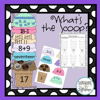 Ways to Make Numbers Math Center: What's the Scoop?