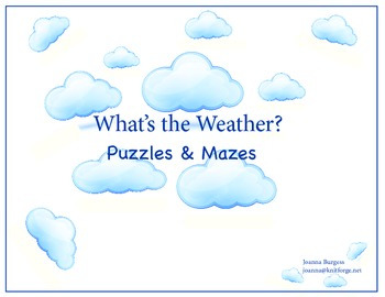 What's the Weather? Puzzles & Mazes