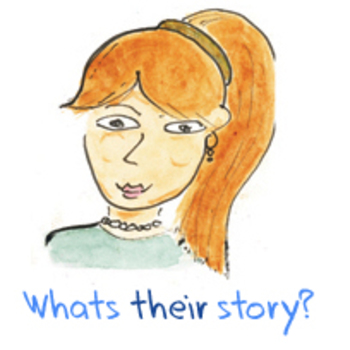 What's their story? Elementary creative writing character