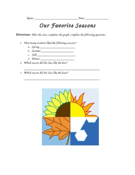 What's your Favorite Season? Graph it!