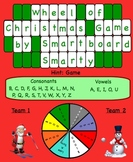 Wheel of Christmas Smartboard Wheel of Fortune Type Lesson