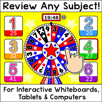 Quiz Review Game for Any Subject: Valentine's Day Activities