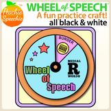 Wheel of Speech Articulation Craft