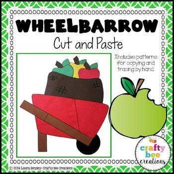 Wheelbarrow Cut and Paste