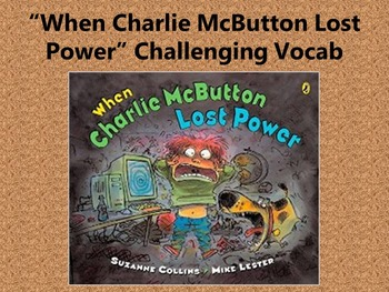 When Charlie McButton Lost Power Incomplete Outline Activity