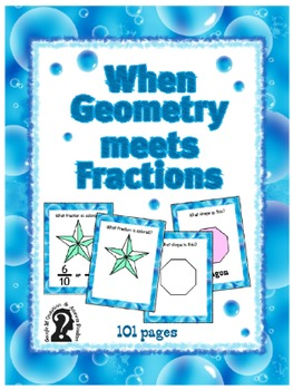 When Geometry meets Fractions ~ Self-Teaching Question & A