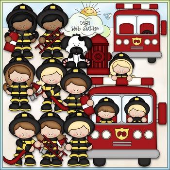 When I Grow Up: Fireman Clip Art - Firefighter Clip Art -