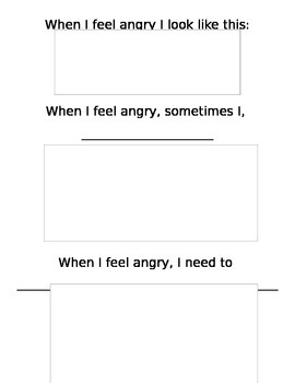 When I feel Angry Activity