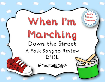 When I'm Marching Down the Street - Folk Song, Kodaly ta/t