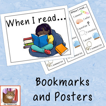 When I read...Bookmark and Posters