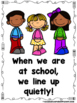 When We Are At School.....We Follow The Rules  (A Sight Wo
