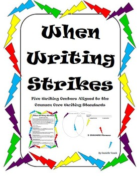 When Writing Strikes: Writing Centers-Common Core Aligned